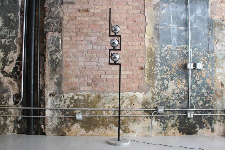 Mid-Century Modern 1960s Angelo Lelli Floor Lamp for Arredoluce, Italy For Sale