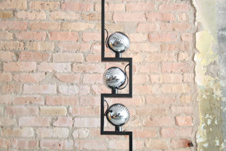 Italian 1960s Angelo Lelli Floor Lamp for Arredoluce, Italy For Sale
