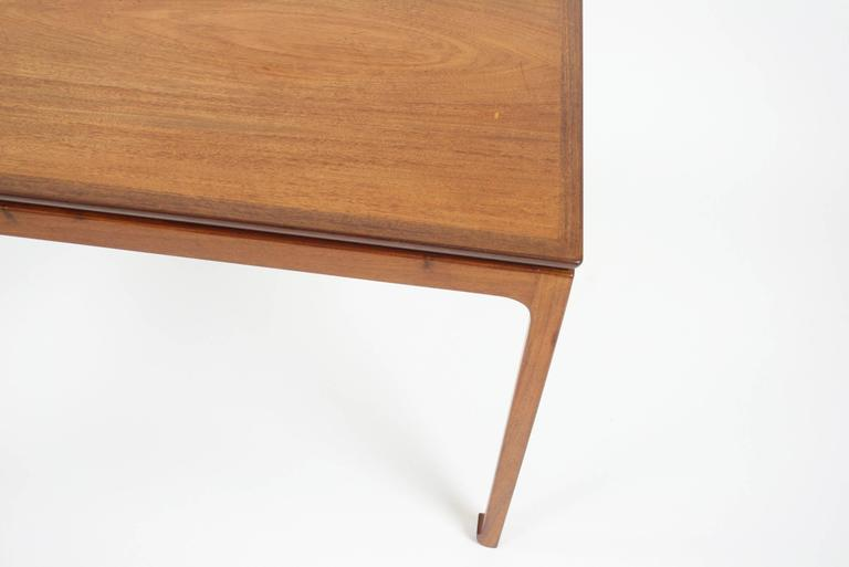 Mid-20th Century Ole Wanscher Coffee Table in Cuban Mahogany for A. J. Iversen, Denmark For Sale