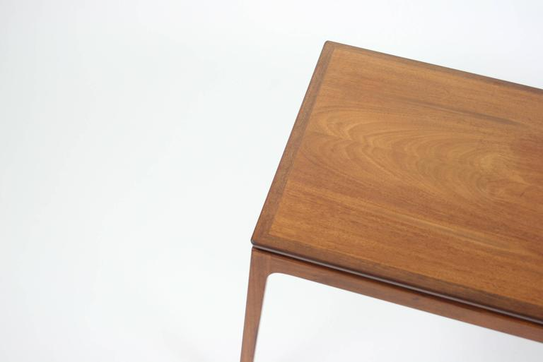Ole Wanscher Coffee Table in Cuban Mahogany for A. J. Iversen, Denmark In Excellent Condition For Sale In Chicago, IL