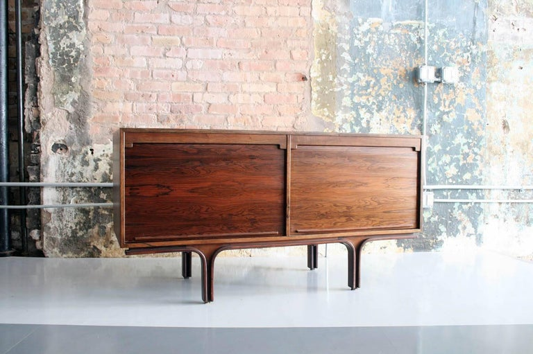 Sideboard by Gianfranco Frattini, Bernini Italy, 1961 In Excellent Condition For Sale In Chicago, IL