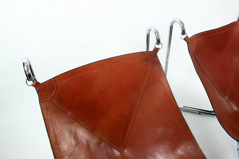 Mid-Century Modern Gianni Pareschi and Ezio Didone Baffo Lounge Chairs for Busnelli, Italy, 1969 For Sale