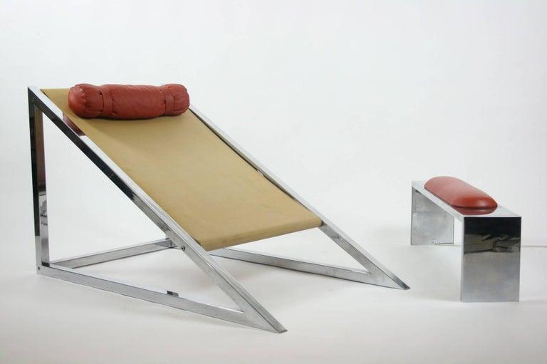 Mies Chair and Ottoman, Archizoom Associati, 1969 2