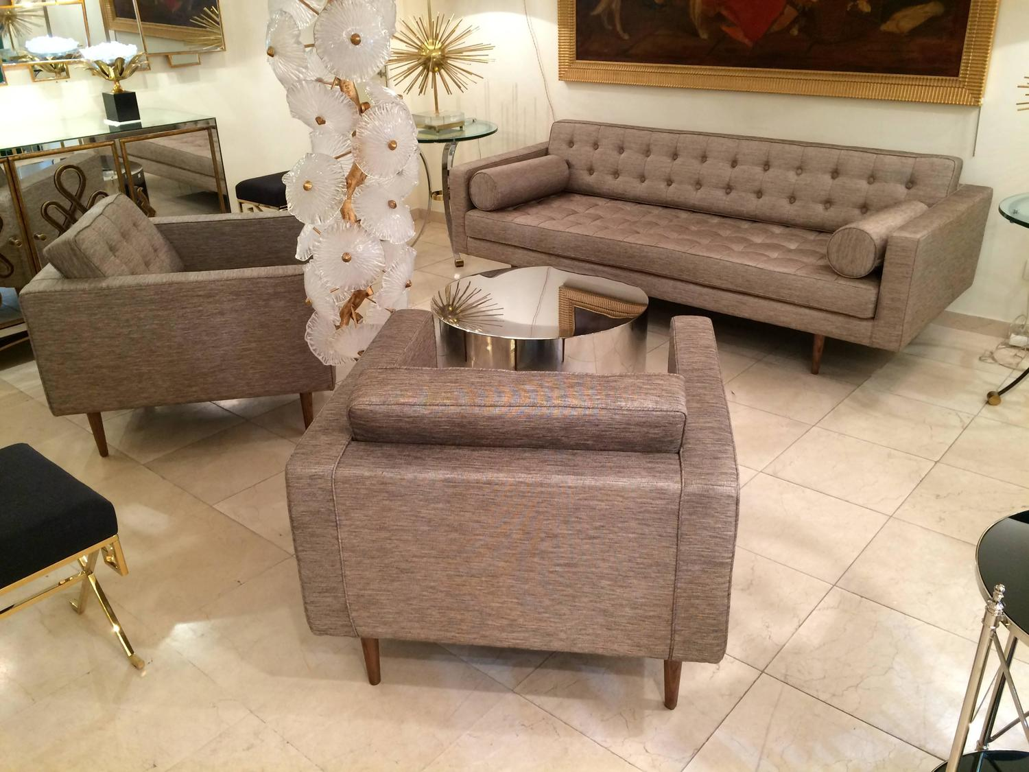 three piece 1960s living room set for sale at 1stdibs