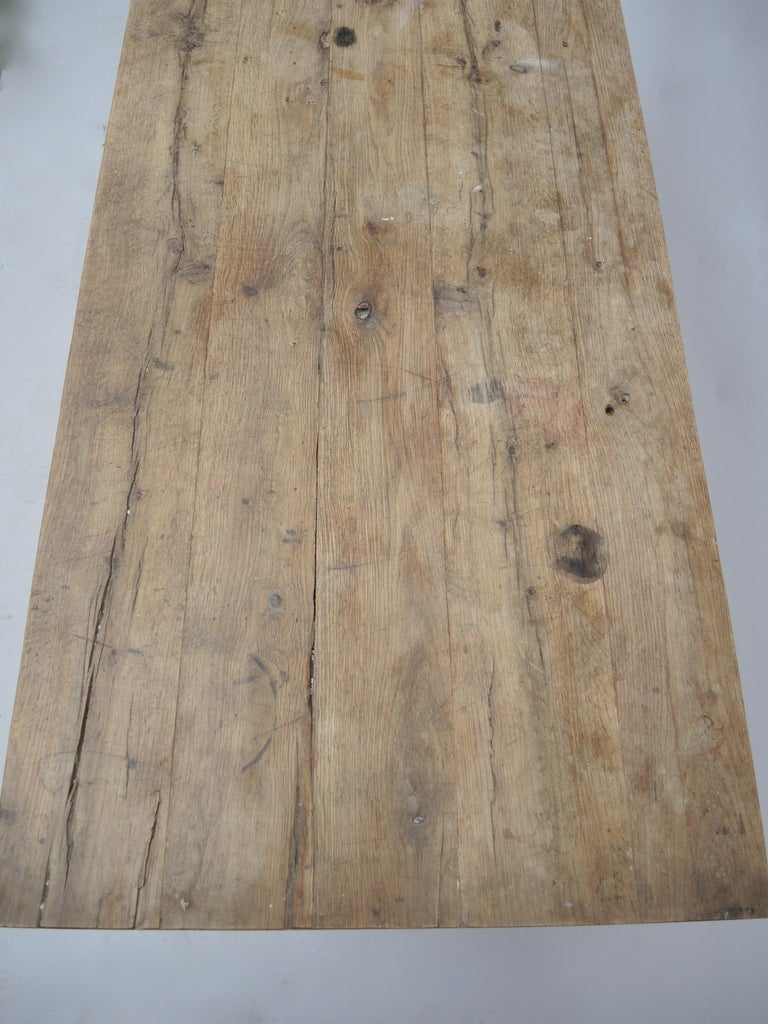 Rustic Kitchen Work Table or Serving Table For Sale 2