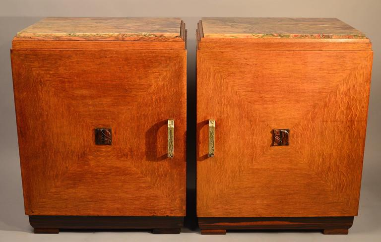 cabinets for bedroom pair of deco nightstands at 1stdibs 10972