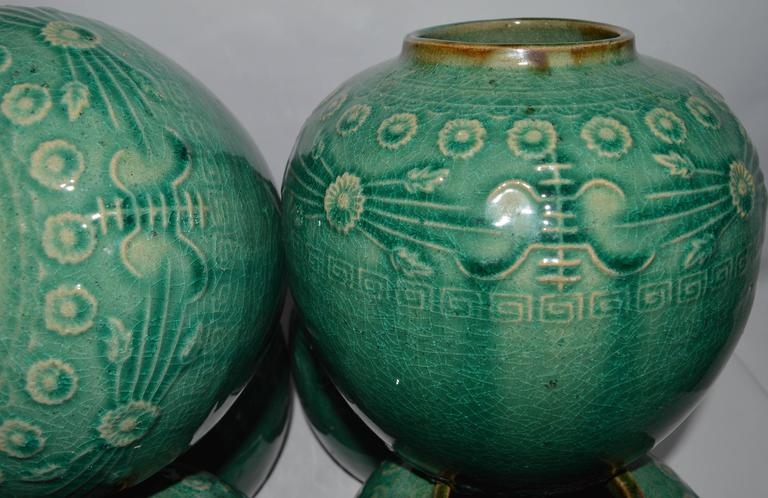 Late 19th Century Chinese Merchants Ginger Jar Jars Of This Sort Were Used To Pack