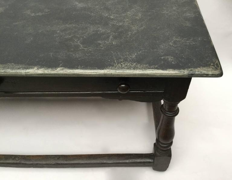 17th Century English Jacobean Refectory Table From The