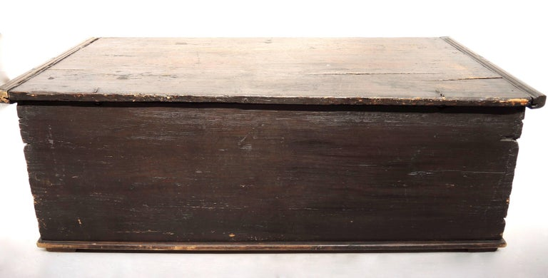 Early 19th Century Swedish Painted Trunk 3