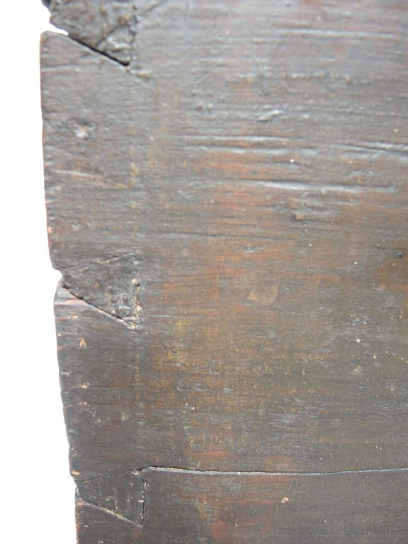 Early 19th Century Swedish Painted Trunk For Sale 2