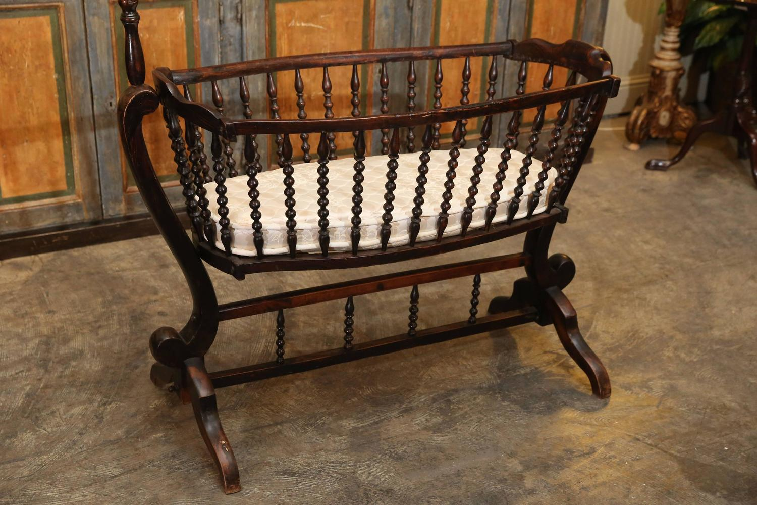 antique baby crib at 1stdibs