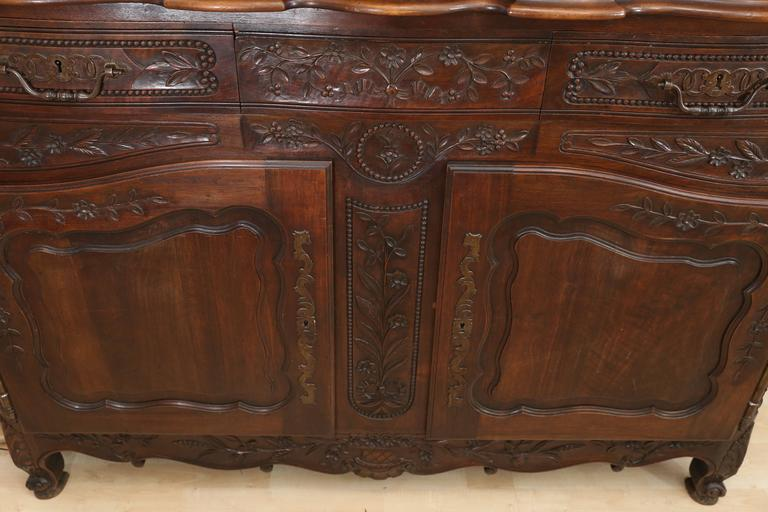 French Mahogany Vaisselier For Sale 1