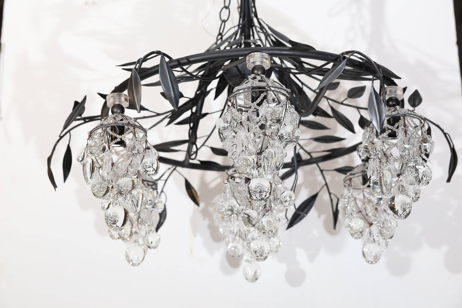 yves delorme venise chandelier at 1stdibs
