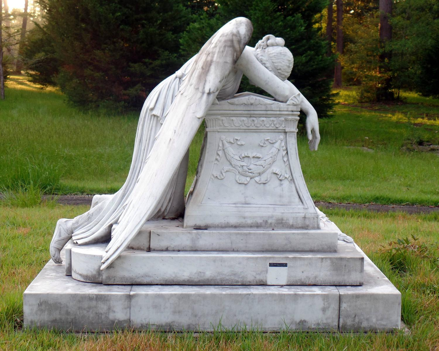 This Site Contains Information About Angel Of Grief Garden Statue  Daphmancom.