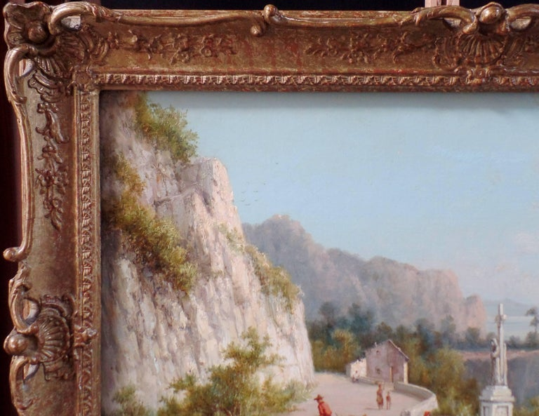 Pair of Signed Oil on Canvas Paintings by W. Dommersen For Sale 1