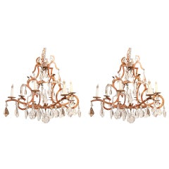"Pair of Dennis & Leen ""Chateau"" Chandeliers"