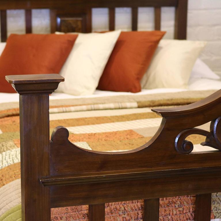 Arts And Crafts Style Mahogany Bed Wd12 At 1stdibs