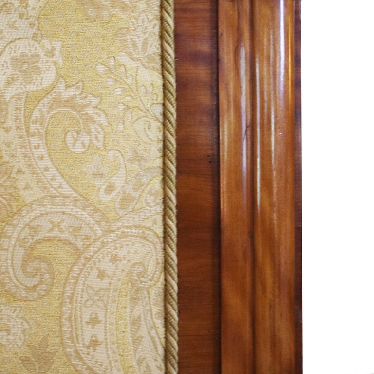 Late Victorian Satinwood Upholstered Bed, WK99 For Sale