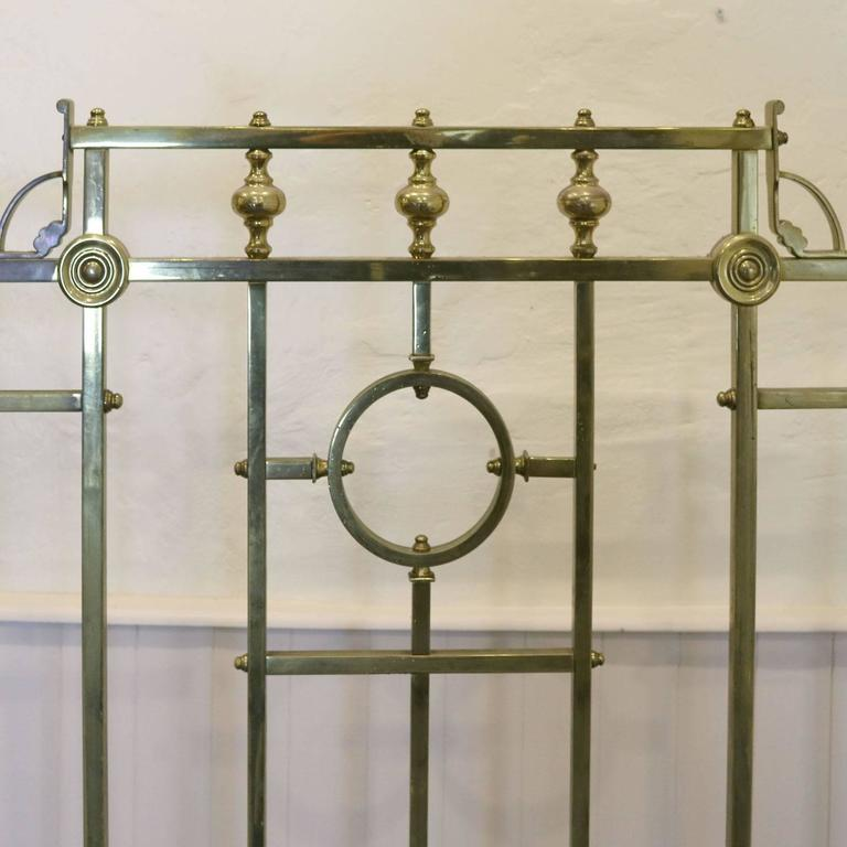 Edwardian All Brass Bed Md38 For Sale At 1stdibs
