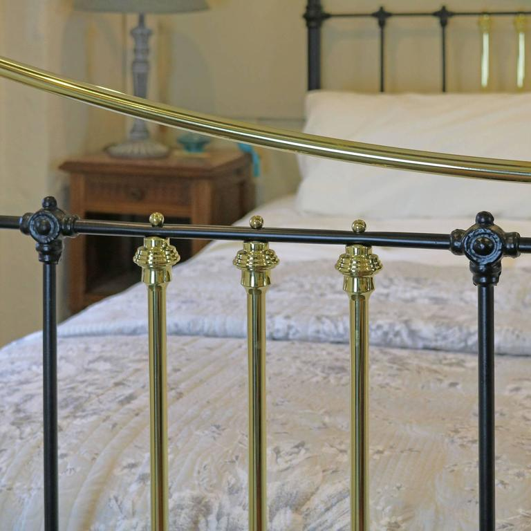 Brass and Iron Extra Wide Bed MSK24 4