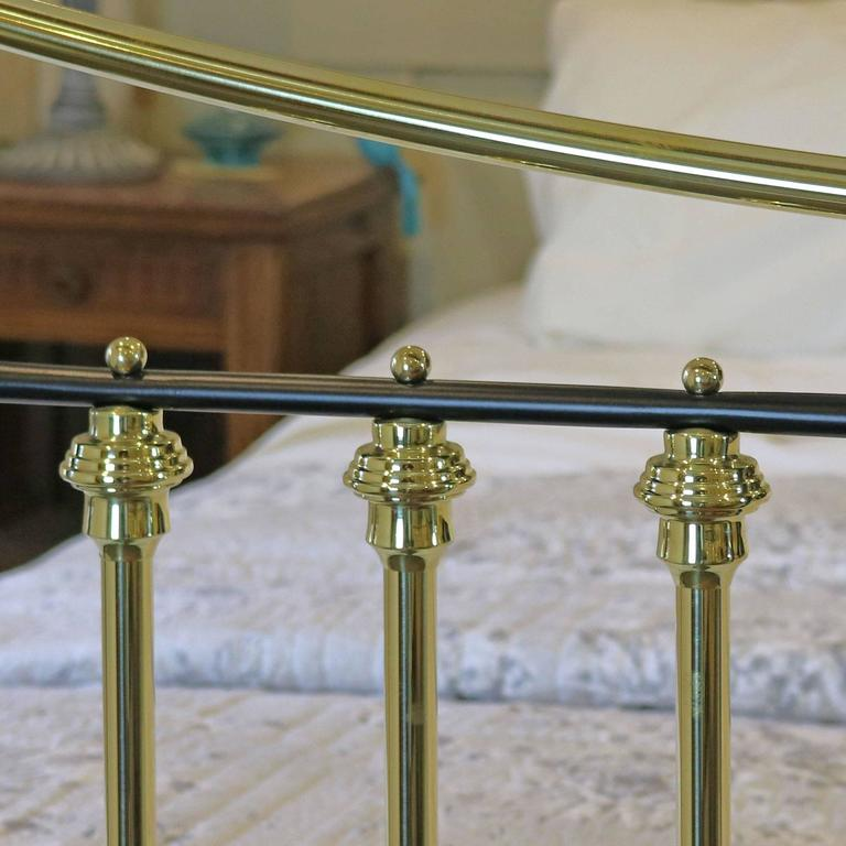 Brass and Iron Extra Wide Bed MSK24 9
