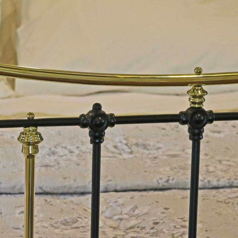 Brass and Iron Extra Wide Bed MSK24 3