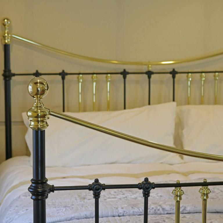 Brass and Iron Extra Wide Bed MSK24 6
