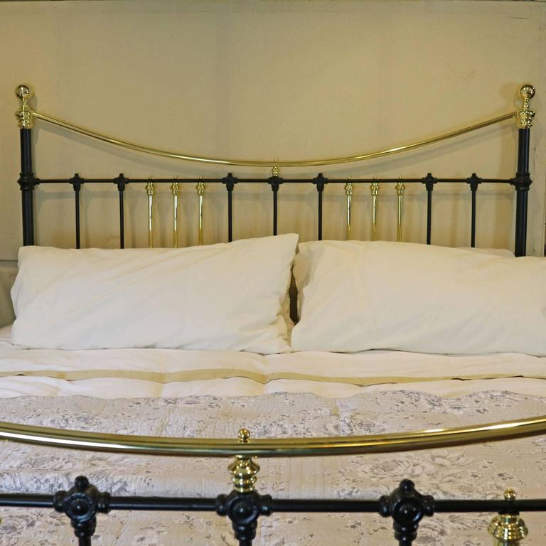 Brass and Iron Extra Wide Bed MSK24 8