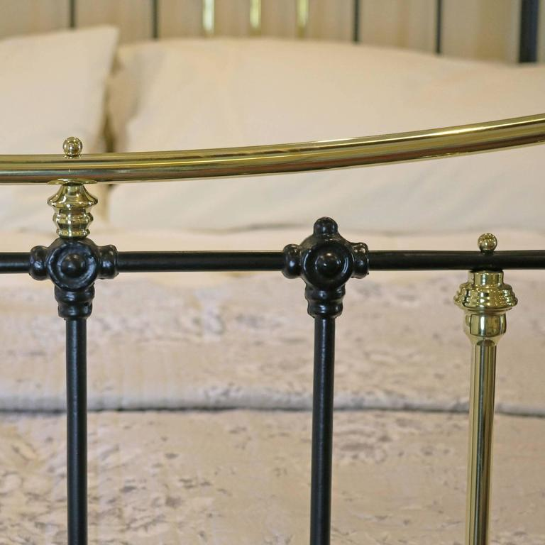 Brass and Iron Extra Wide Bed MSK24 7