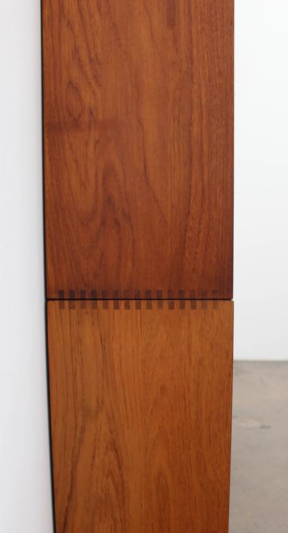 Solid Teak Hvidt & Mølgaard for Søborg Møbelfabrik Bookshelf or Wall Unit,1950s 4