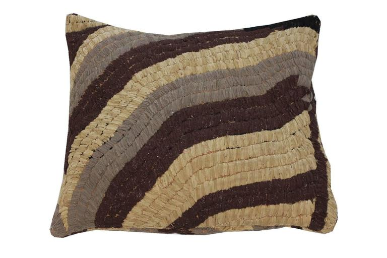 Vintage Floor Pillows : Vintage Textile Floor Pillow For Sale at 1stdibs