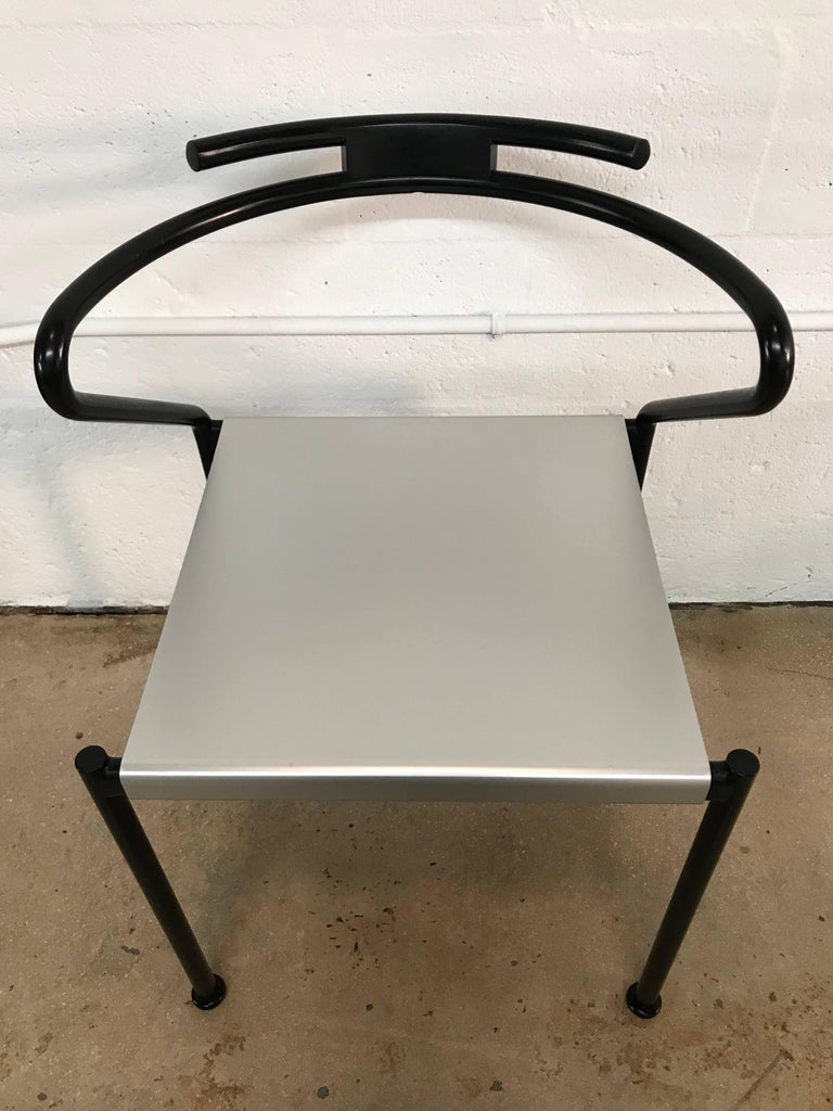20th Century Set of Ten Postmodern Dining Chairs by Cidue, Italy For Sale