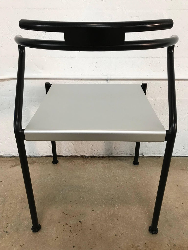 Italian Set of Ten Postmodern Dining Chairs by Cidue, Italy For Sale