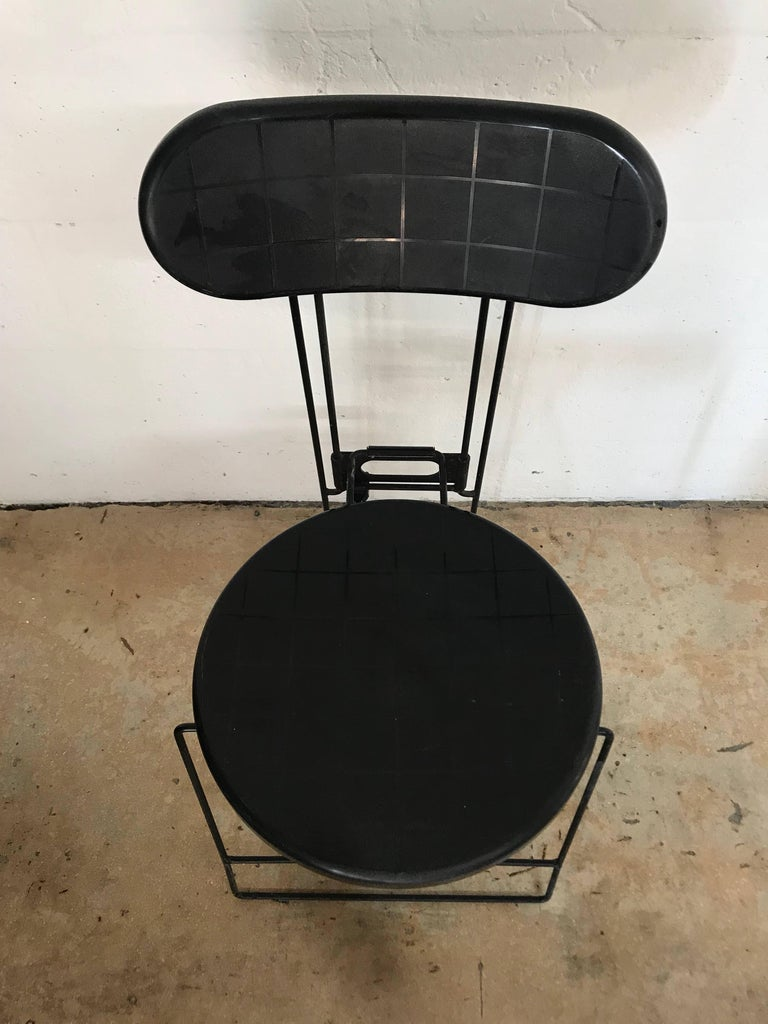 "Set of Three Andries Van Onck & Kazuma Yamaguchi ""Cricket"" Folding Chairs In Excellent Condition For Sale In Miami, FL"