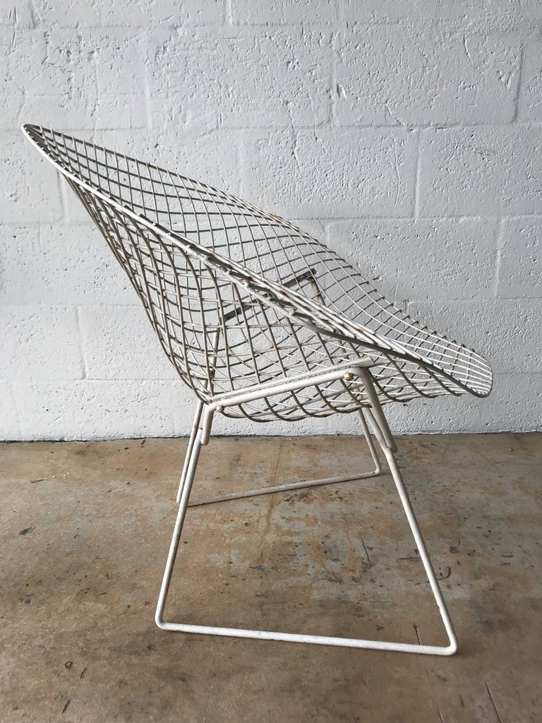 original harry bertoia diamond chair for sale at 1stdibs. Black Bedroom Furniture Sets. Home Design Ideas