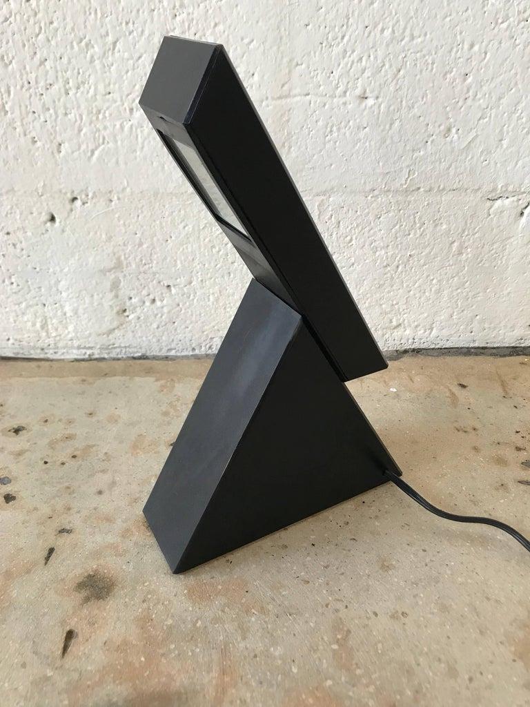 "Italian Pair of Postmodern Mario Bertorelle ""Delta"" Lamps for JM RDM Massanzago, Italy For Sale"