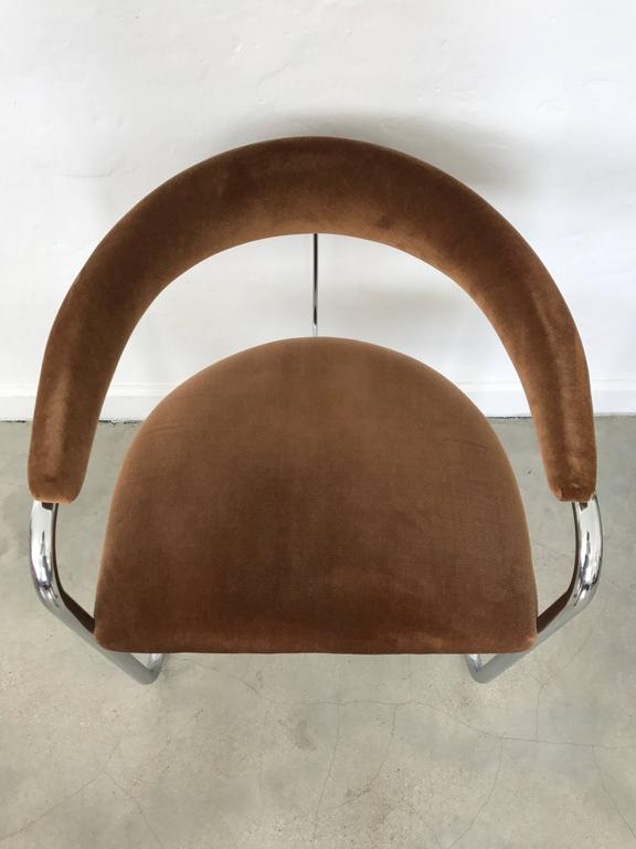 Pair Of Anton Lorenz Model Ss33 Chairs For Thonet At 1stdibs