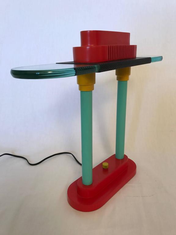 Post-Modern Robert Sonneman Memphis Lamp for George Kovacs For Sale