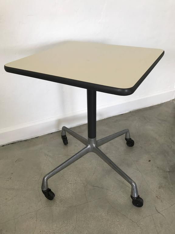 Eames aluminium group side table for herman miller for - Herman miller eames table ...