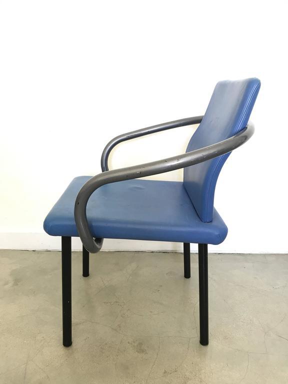 Post-Modern Ettore Sottsass Mandarin Chair for Knoll For Sale