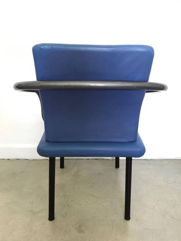 Enameled Ettore Sottsass Mandarin Chair for Knoll For Sale