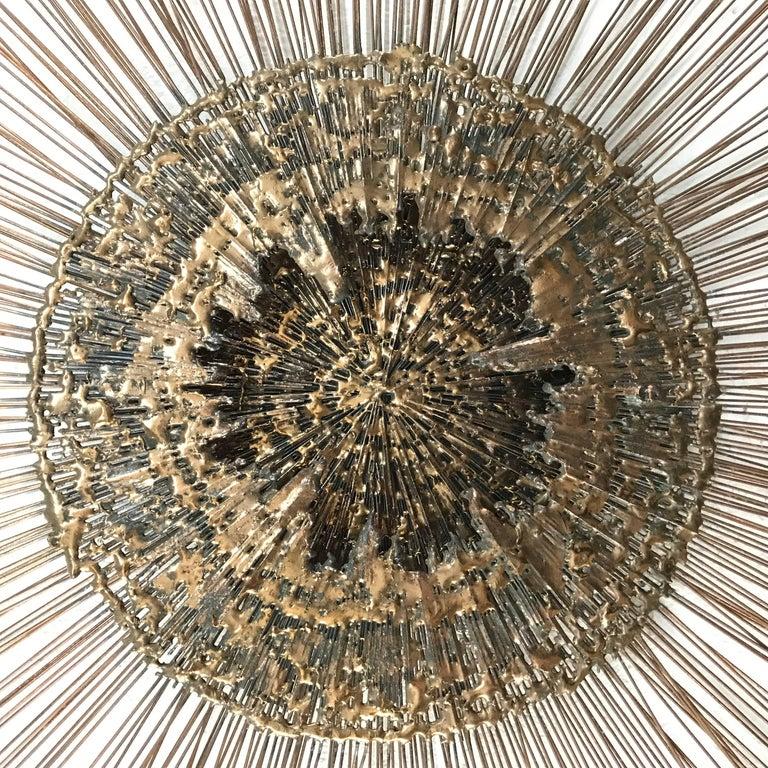 Curtis Jere Brass Wall Sculpture 4