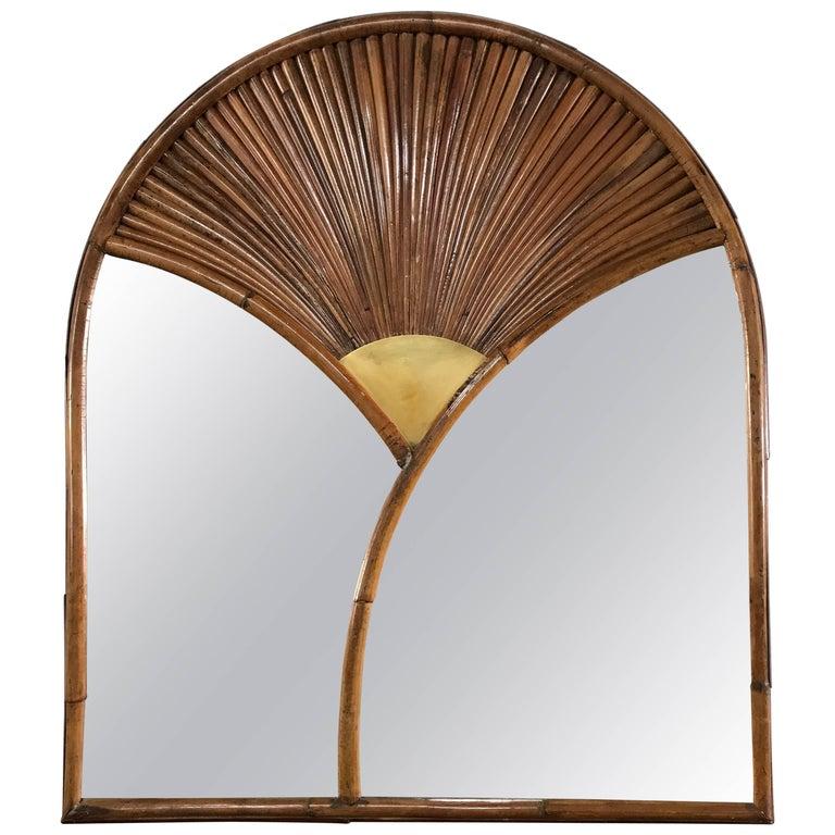 """Gabriella Crespi """"Rising Sun"""" Mirror For Sale"""