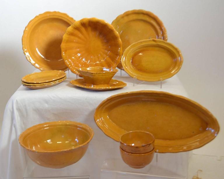 European 20th Century Faience Tableware For Sale