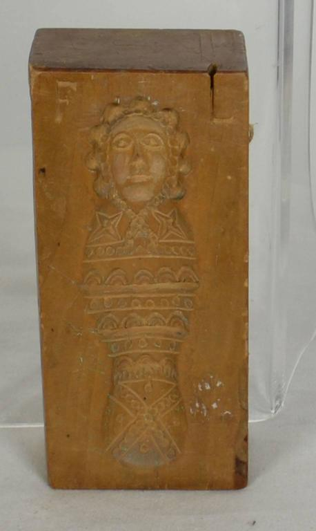 Double Sided Wooden Gingerbread Mold At 1stdibs