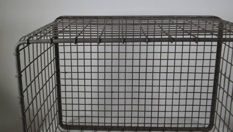 French 20th Century Metal Basket For Sale