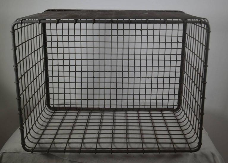 20th Century Metal Basket For Sale 1