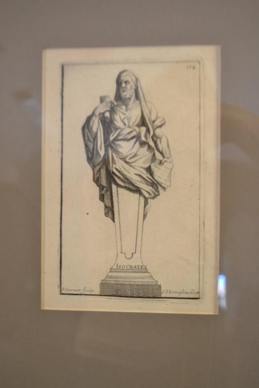 Six Copperplate Engravings of Sculptures in the Garden of Versailles In Excellent Condition For Sale In Vista, CA