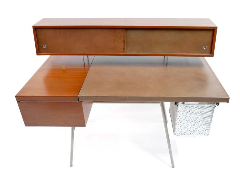herman miller office desk. george nelson home office desk by herman miller 1946 2 l