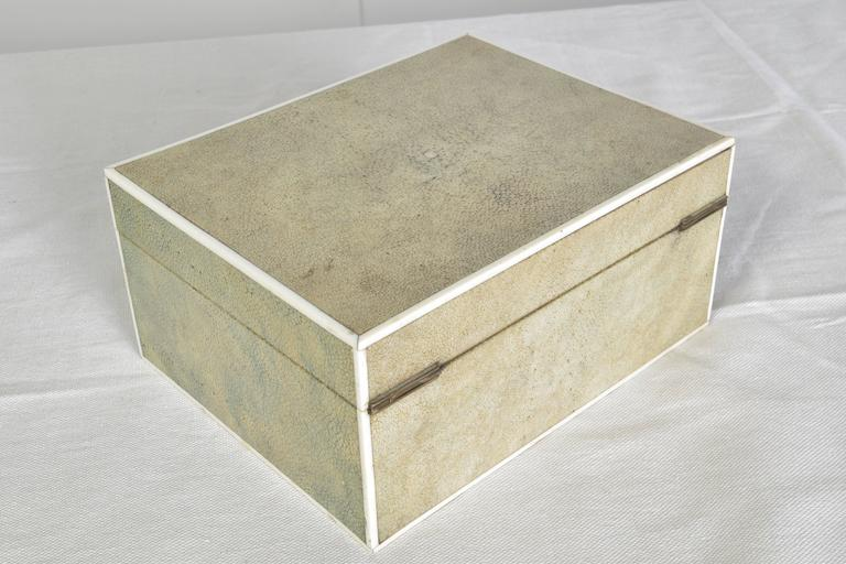 20th Century Shagreen Box For Sale